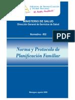 NORMA Y PROTOCOLO PF