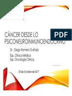 Cancer desde lo PNIE