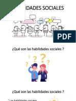 HABILIDADES SOCIALES Y EMPATIA