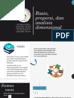 MTK Rasio, proporsi, dan analisis dimensional