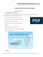 Architectural Heat Strengthened Glass