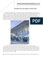Using the Right Glass for Your Glass Curtain Wall