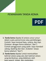 PEMAKAIAN TANDA KOMA.pptx