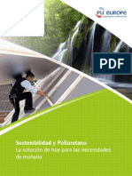 Sustainability and Polyurethane Insulation - Today s Solution for Tomorrow s Needs - ES