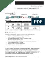 E2_Lab_1_5_1 Câblage d'Un Réseau Et Configuration de Base Des Routeurs