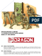 Dragon Models Limited World's Elite Force Series (3000-series) Index