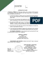 1-Affidavit-of-Loss
