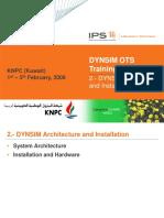 02 - DYNSIM Architecture and Installation