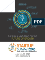 Startup Summit Brochure Pune