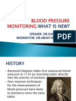 BLOOD PRESSURE MONITORING-WHATS NEW