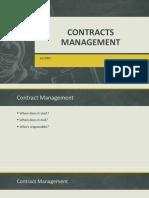 C&PM Lec 02, Contract Management