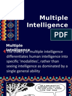 Multiple Intelligence ppt