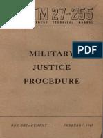 Mil Justice Procedure 1945(2)
