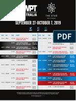 wpt-australia-2019-event-schedule