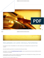 Manualidades con cartón_ técnicas y herramientas _ Rusketa