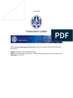 LEIDEN UNIVERSITY PHD DISSERTATION VINCENT BREUGEM FROM PROMINENCE TO OBSCURITY