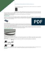 Networking Devices Hub Switch Router Modem Bridges Brouters Gateways.docx