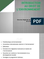 cours Droit de l'environnement