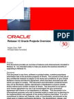 Oracle Projects