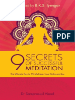 9 Secrets of Successful Meditation The Ultimate Key to Mindfulness, Inner Calm & Joy