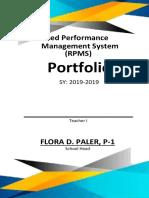 Portfolio-Preparation-and-Organzation-for-IPCRF