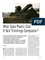 Cost of Plastics To Composters BioCycle