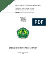 Laporan Kurikulum Tingkat Satuan Pendidikan (Ktsp) Paud