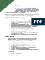 RHEL 7 RHCE Objectives