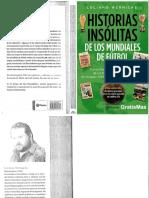 Historias insolitas de los mundiales de futbol - Luciano Wernicke