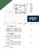 analisis struktur metode matriks
