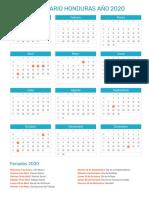 Calendario-Honduras-2020