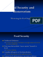 Food Security and Bioterrorism (1)