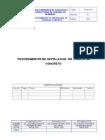 PROCEDIMIENTO INSTALACION DE PLANTA DE CONCRETO