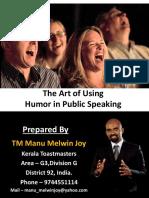 humor in public speaking.pdf
