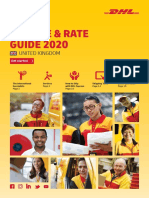 Dhl Express Service Rate Guide