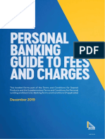 Personal Banking Guide to Fees and Charges