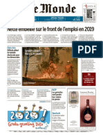 Journal LE MONDE du Vendredi 27 Decembre 2019