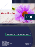 lasers in operative dentistry
