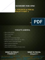 Public Finance & Fiscal Policy Part 1 by Nihit Kishore - Lecture 6.pptx