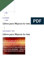 Lista_ Libros para Mejorar la vista