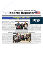 January 1 - 7, 2020  Sports Reporter