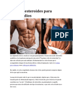 Ciclo de esteroides docx