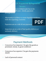 ITPD 5 Payment terms & INCOTERMS