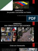 LA REALIDAD VENEZOLANA - POR JOHN SASTOQUE - Universidad UDCA