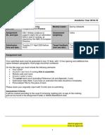 NS522 Assignment Brief Semester 1 sept '18 (1)(1)