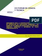 HERRAMIENTA PARA LA CONSTRUCCIÓN DE DIAGRAMAS DE INTERACCIÓN DE CAPACIDADES NOMINALES Y DE DISEÑO DE COLUMNAS RECTANGULARES CON REFUERZO SIMÉTRICO SOMETIDAS A ESFUERZOS DE FLEXO COMPRESIÓN RECTA.