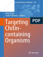 (Advances in Experimental Medicine and Biology 1142) Qing Yang, Tamo Fukamizo - Targeting Chitin-containing Organisms-Springer Singapore (2019)