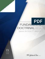 Fundamento Doctrinal Agosto,2015