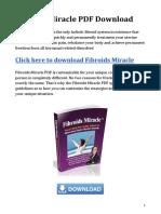 Fibroids Miracle PDF Download