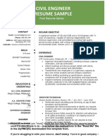 Civil-Engineer-Resume-Sample_2020-Green